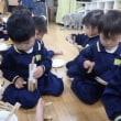 ぴんく 2歳児 クリップ遊び★