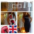 女らしいインポートタイトワンピース、UKロンドンよりタイトドレス