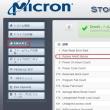 SSD 各社が提供しているツールを使い、メンテしてみようと思います。(Micron 製 SSD / その2)