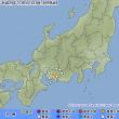 2017年07月16日(日) 23時13分 - 愛知県西部 M3.1 (最大震度1) 深さ 約40km
