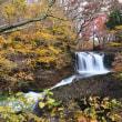 鐘山の滝と紅葉①