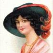 帽子の美人 4