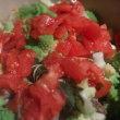 ロマネスコと鶉のミネストローネ(Minestrone con broccolo romanesco e quaglia)
