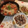 すきみ鱈アクアパッツァ&モロッコインゲン肉巻き&たこ焼き