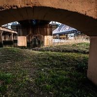 鉄橋と大橋