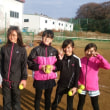 K-Tennis training 1月合宿終了〜〜〜。(2309)