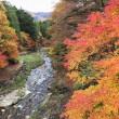 御坂神社から御坂峠―紅葉