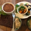 今日のカフェループ-豆腐のチリソース