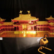 刈谷高校生の折り紙作品の展示会