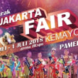 インドネシア最大の商業見本市「ジャカルタ・フェア」開幕。