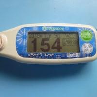 12月14日 血糖値です(´・ω・`)
