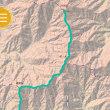 鍋割山、塔ノ岳を経て、丹沢山へ
