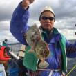8日カワハギ釣果