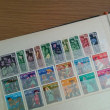 久しぶりの切手整理