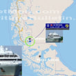 フランスのクルーズ船LE SOLEALがパタゴニアでトラブル