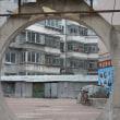 丹東の古い街並み
