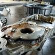 トヨタjzx110マーク2オイルポンプ破損