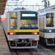 東武 野州大塚(2018.11.8) 20400系、8000系並び