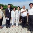 ◆蓼川下流域の水害対策促進にむけ、日本共産党調査団が現地視察・市長懇談