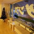 照明落としてラテンダンス。FUKUOKA Christmas Marketのようには…【お陰様で20周年。福岡市のシャンデリアが綺麗な社交ダンス教室はダンススクールライジングスター】