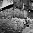 妻籠宿、石段小道