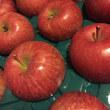 最後のりんご。