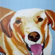 2018 marukoの 犬 ・・・・ 仲田丸子さんの作品 ( クレヨン画 ) ③