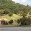 今日は秋晴れの中でゴルフをしました