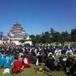 今日は戊辰150周年記念「会津まつり」会津藩公行列です(^o^)/~~