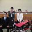 詩乃音さんの入学式