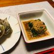 さざえのつぼ焼きと、赤えびの天ぷら☆