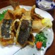 「御料理 とむら」のカレイの唐揚げ