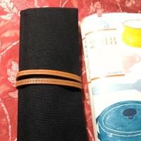 【ペンケース】軽くてシンプルなロール式〜TOTONOE・ PEN CASE 3POCKETS(コクヨ株式会社)〜