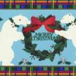 Cardごのみ485~白熊クリスマス&カラフルなオーナメント