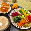 常備菜の夕ご飯