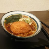 新潟駅前の「そばうどん」でハムカツ食ってきたよ!
