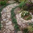 広い庭と小さな庭