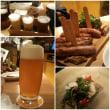 クラフトビールとソーセージ