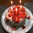ケーキ作りました