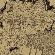 本日6月30日(金)HOPKEN B1 GALLERYにて、イラストレーター・鈴木裕之氏の個展「CHAOTICほんがらかRELAXIN'混沌」が開催