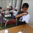 夏企画『竹紙を漉いて立体作品を作ろう!』(二日目)