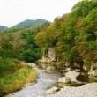 仙台名取川渓流で「芋煮会」を見る