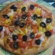 手作りピザでランチ ~トマトソースのピザ、明太子のピザ、ポテトのピザ~
