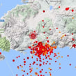 リゾート地ボドゥルムが7月の地震で26センチ沈下した