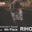 【PV字幕なし高画質】GRANDSOUL予選2回戦 SOLO部門 第5位「RIHO」
