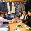 懇親会兼送別会の開催とモンゴル料理