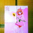 コンビニ「ローソン」で→「ごちうさ」主人公・心愛(ココア)のA2ポスター