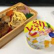 今日のお昼ご飯 二色の鶏弁当