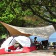 Takibi-Tarp TC wingとエリクサー4で海キャンプ@逗子ヶ浜 青少年旅行村