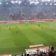 リーグ観戦でした。 オリンピアコス-ORFE